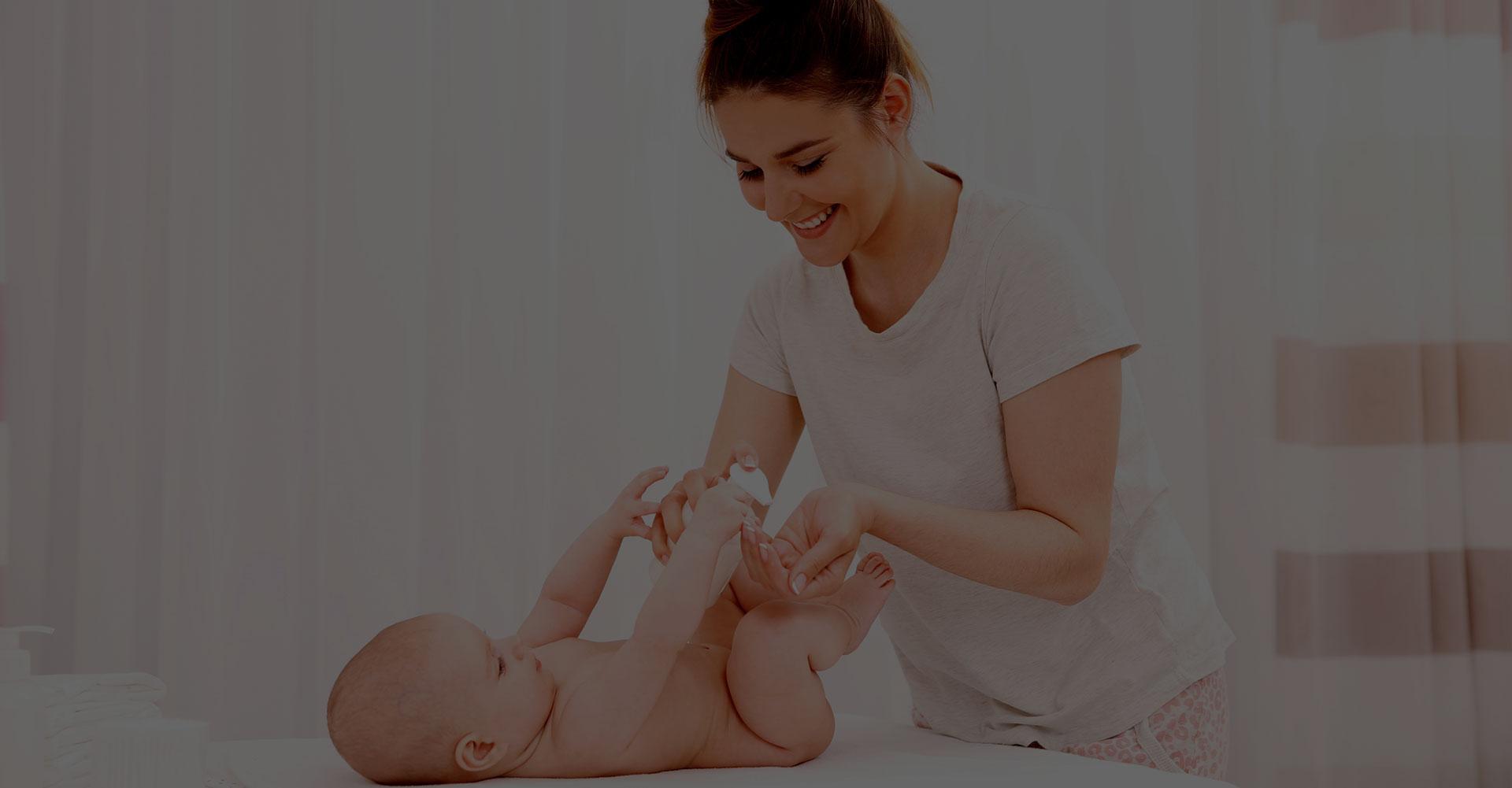 aimer et prendre soin de son bébé