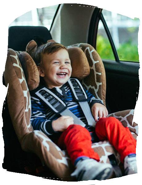 Sécurité de bébé à domicile et en voiture