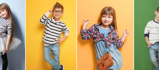 Vêtements tendance filles et garçons