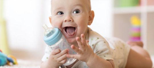 Eau minérale bebe