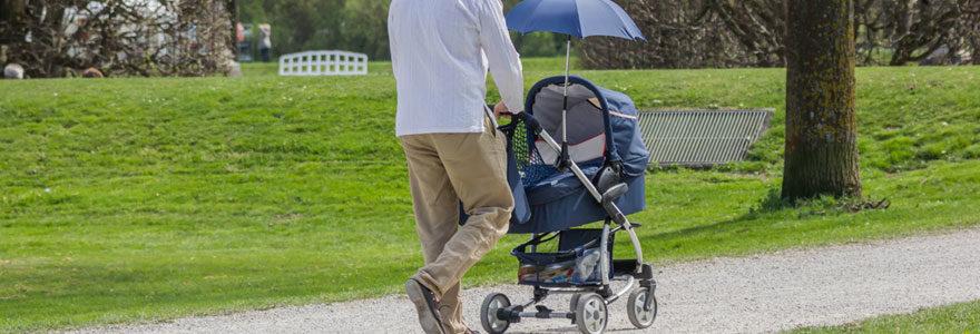 Poussette ombrelles